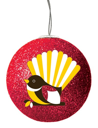 Christmas Bauble - Iconic Fantail