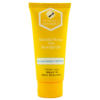 Manuka Honey with Rosehip Oil Sunscreen SPF30 100gm Tube