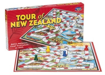 Tour of New Zealand Board Game
