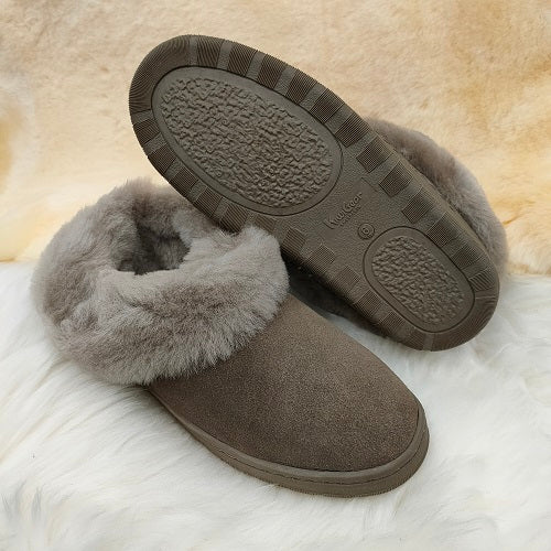 Ladies Madison Hard Sole Slipper