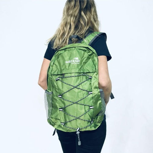 Wild Kiwi Packable Backpack - Green
