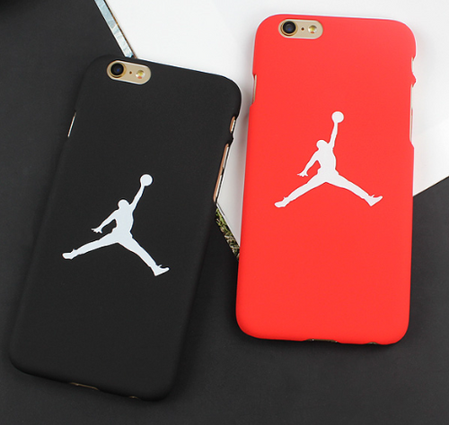 iPhone Xs / X Silikon Case Hülle - Jordan Edition Black/Red