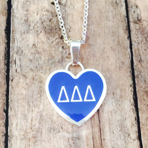 Delta Delta Delta Necklace