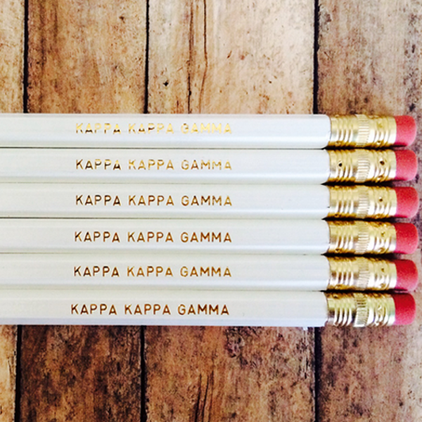 Kappa Kappa Gamma Pencils