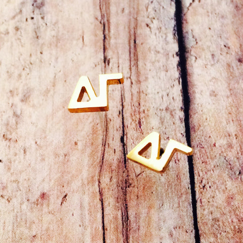 Delta Gamma Earrings