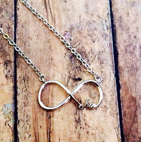 Chi Omega Infinity Necklace