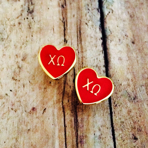 Chi Omega Earrings