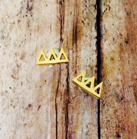 Delta Delta Delta Earrings