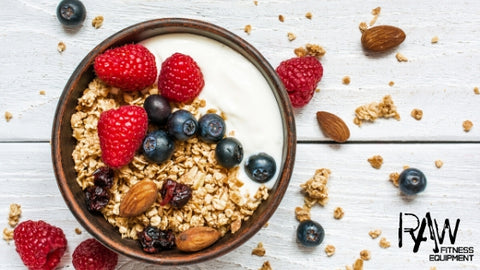 Raw Fitness Equipment Talk all About Granola as a Health Snack Option