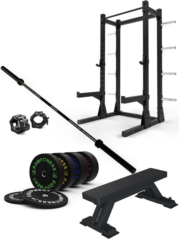 Home Gym Starter Package - Raw Fitness Equipment