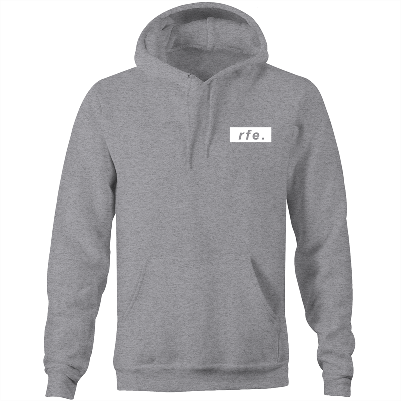 White Box Logo Hoodie - More Colours - RAW Fitness Equipment