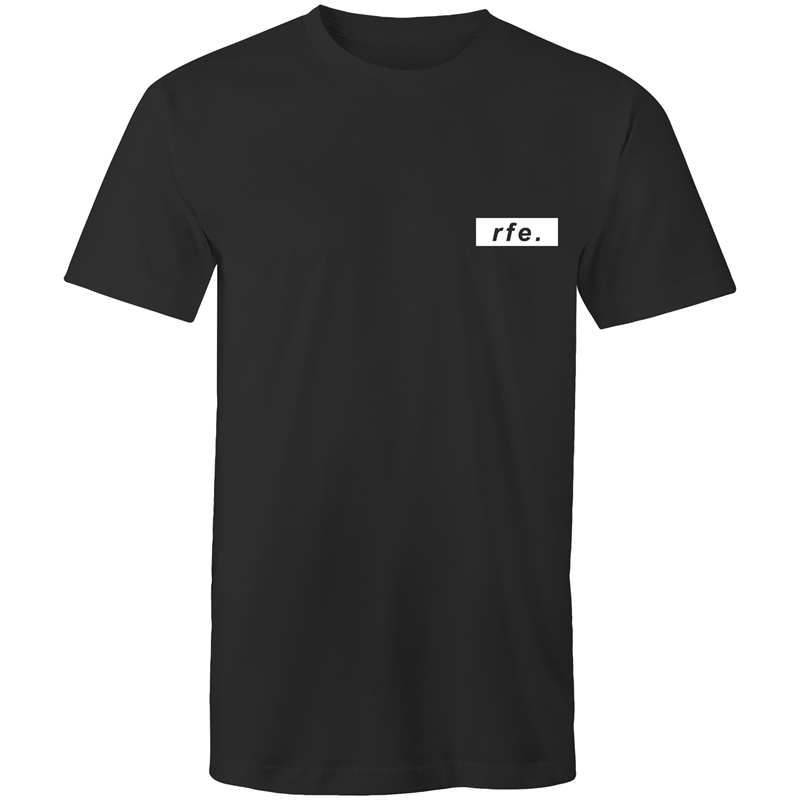 WHITE BOX LOGO TEE [MORE COLOURS] - RAW Fitness Equipment