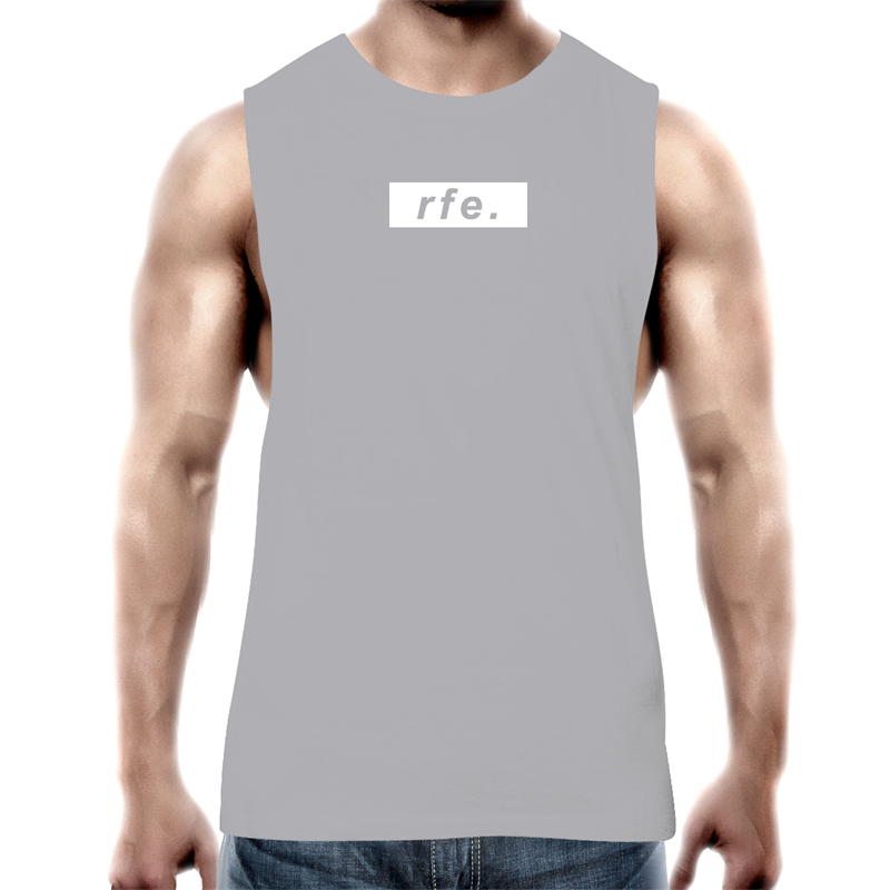 WHITE BOX LOGO TANK [MORE COLOURS] - RAW Fitness Equipment