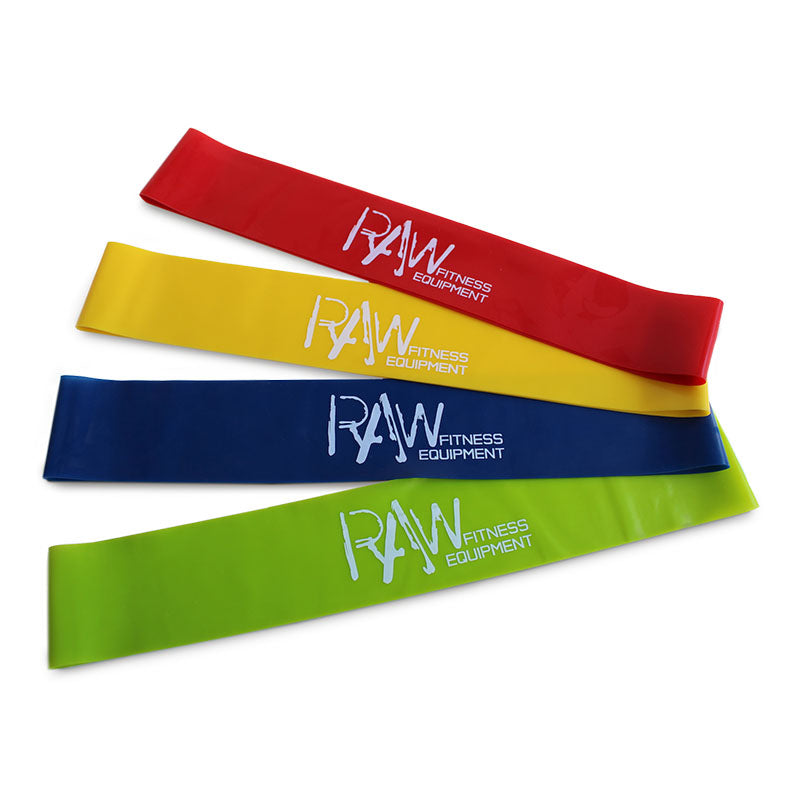 Micro Booty Bands Rubber - 4 Pack - RAW Fitness Equipment