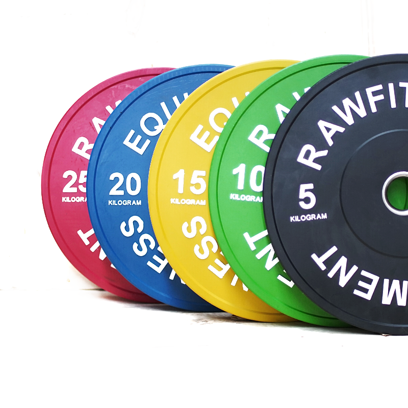 Bumper Plate Premium Colour - 150KG Pack - RAW Fitness Equipment