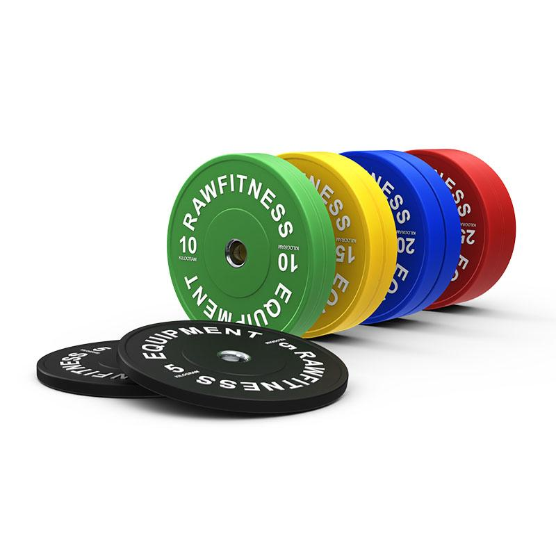 2020 Bumper Plate Premium Colour - 150KG Pack - RAW Fitness Equipment