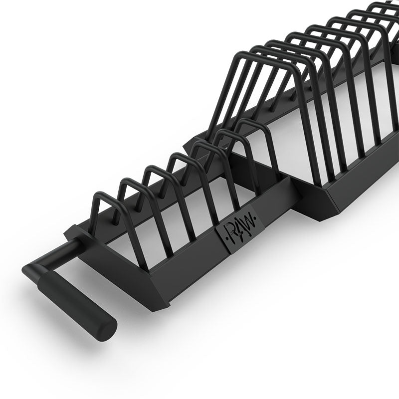 BUMPER PLATE RACK – TOASTER - RAW Fitness Equipment