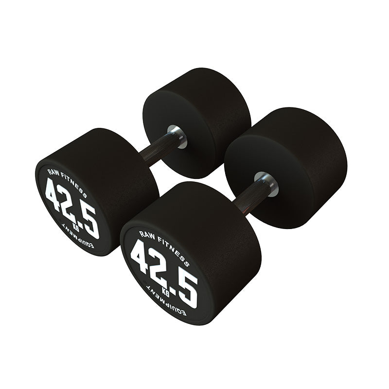 Dumbbell CPU Round - 42.5KG Pair - RAW Fitness Equipment
