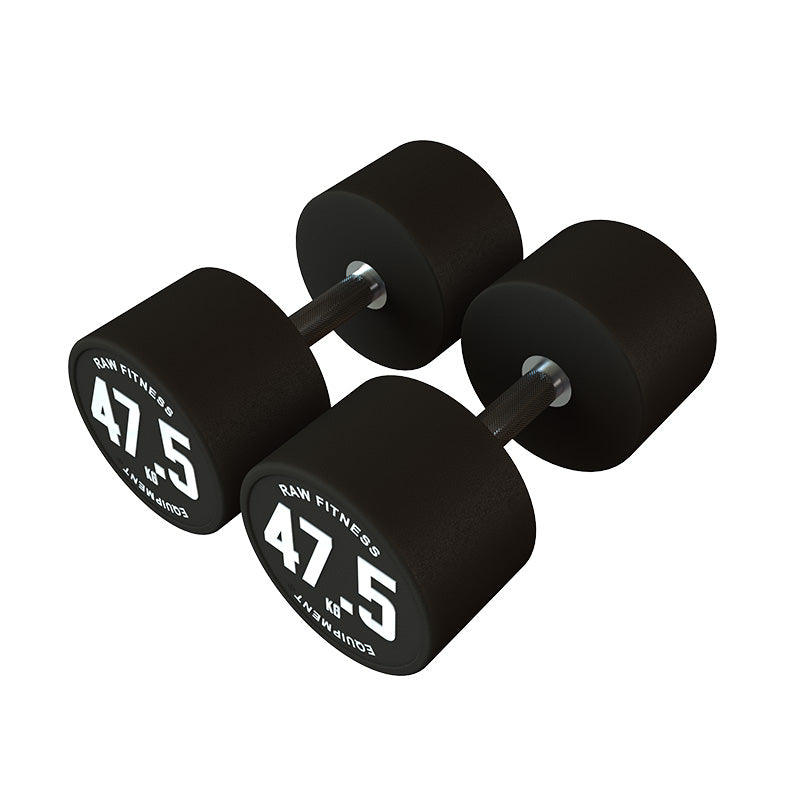 Dumbbell CPU Round - 47.5KG Pair - RAW Fitness Equipment