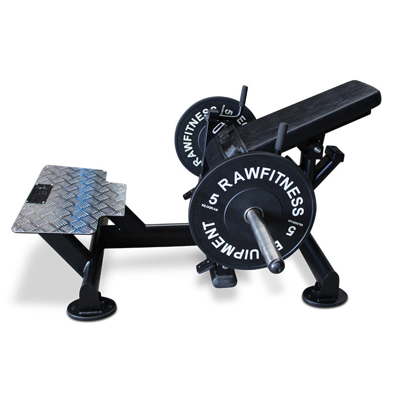 HIP THRUSTER - PLATE LOADED - RAW Fitness Equipment