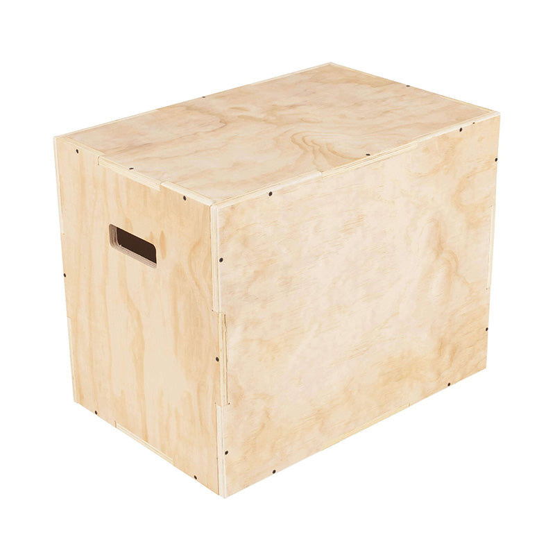 PLYO BOX – WOOD 3 IN 1 - RAW Fitness Equipment