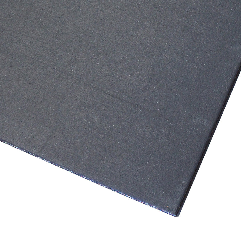 Gym Flooring Tiles Premium EPDM Rubber Black - RAW Fitness Equipment