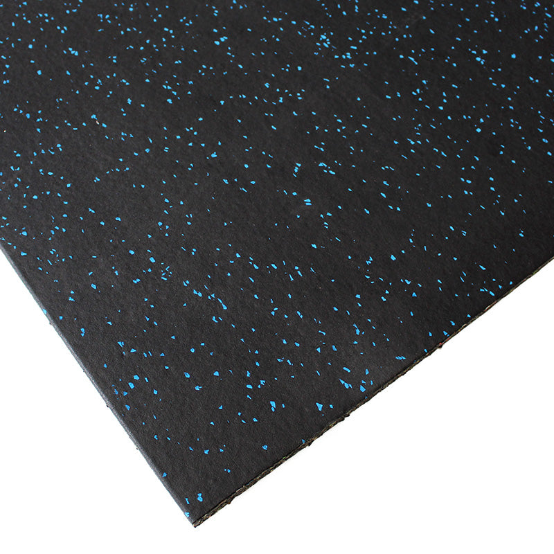 Gym Flooring Tiles Premium EPDM Rubber Blue Fleck - RAW Fitness Equipment