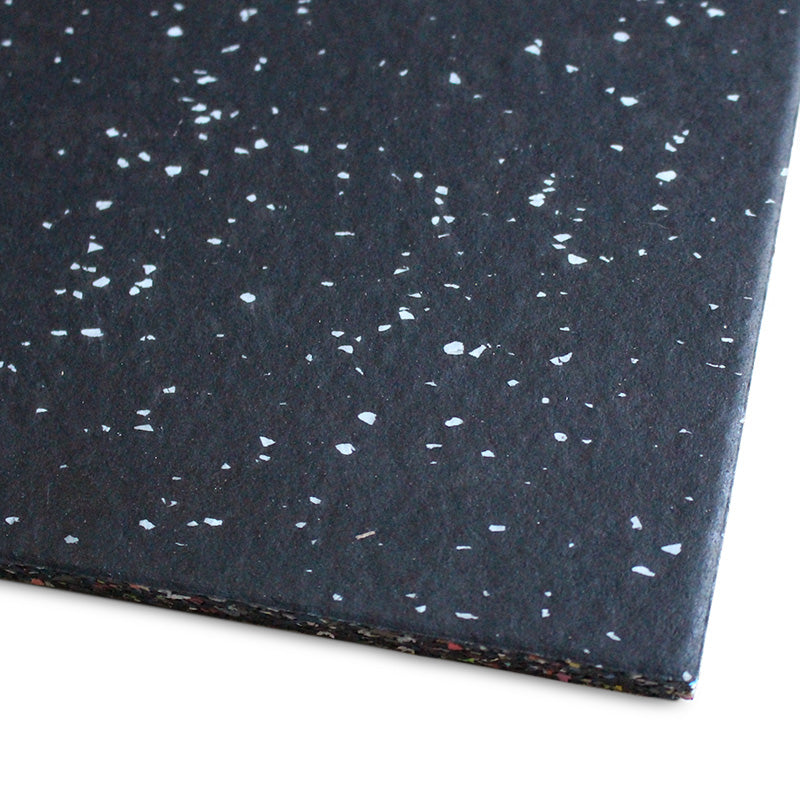 Gym Flooring Tiles Premium EPDM Rubber Grey Fleck - RAW Fitness Equipment
