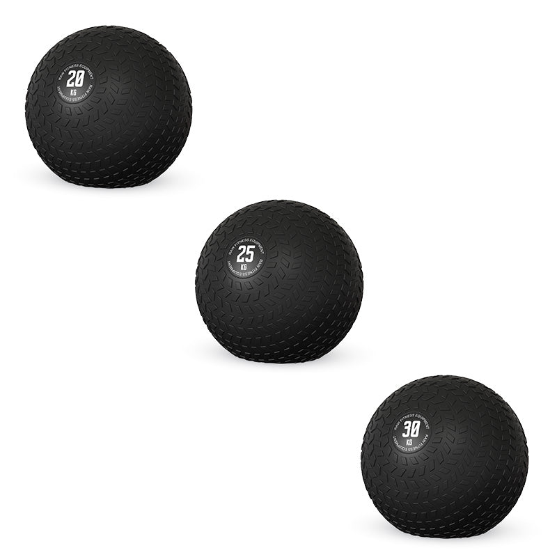 Slam Ball - 20, 25, 30KG Pack - RAW Fitness Equipment