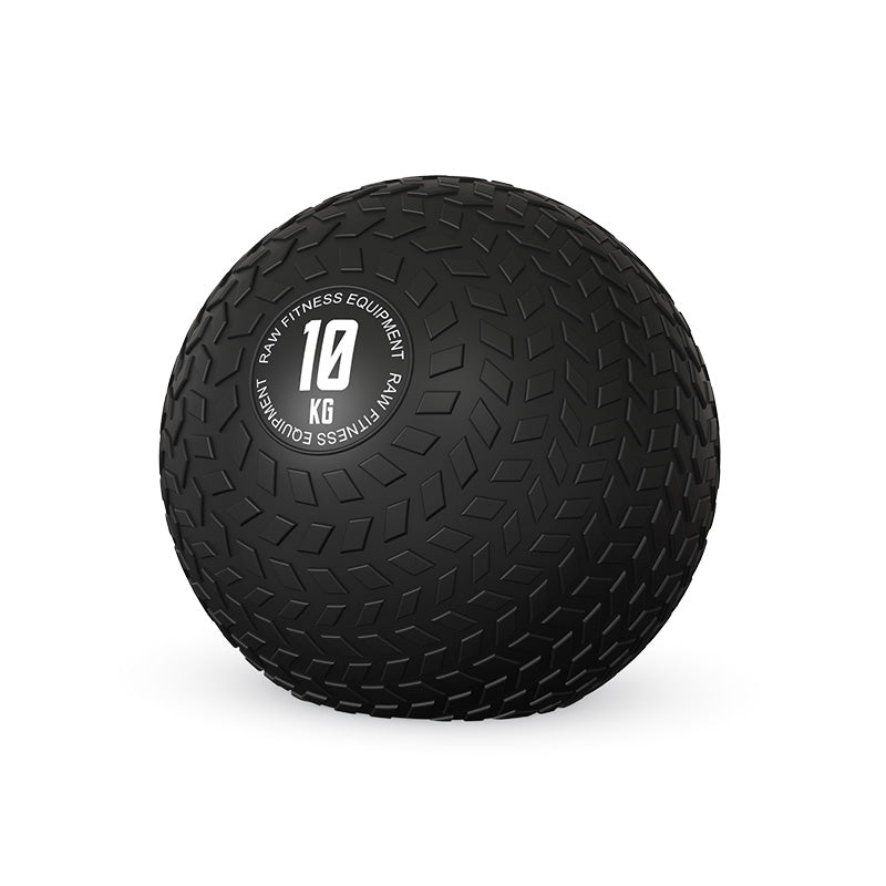 SLAM BALL BLACK 10KG - RAW Fitness Equipment