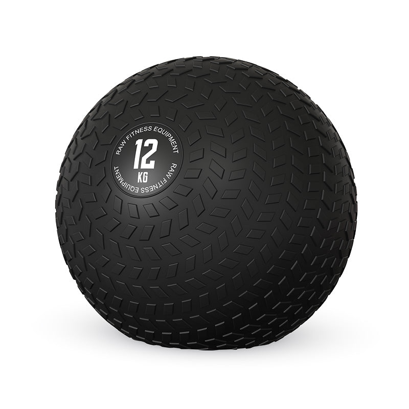 SLAM BALL BLACK 12KG - RAW Fitness Equipment