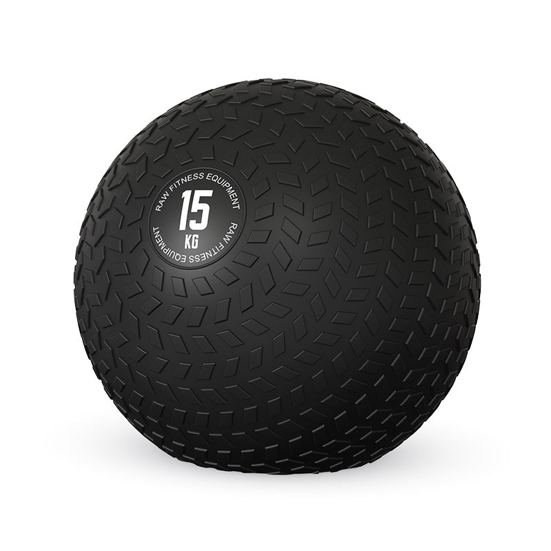 SLAM BALL BLACK 15KG - RAW Fitness Equipment