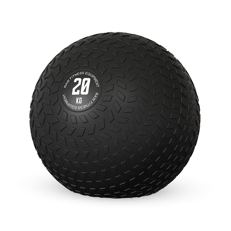 SLAM BALL BLACK 20KG - RAW Fitness Equipment