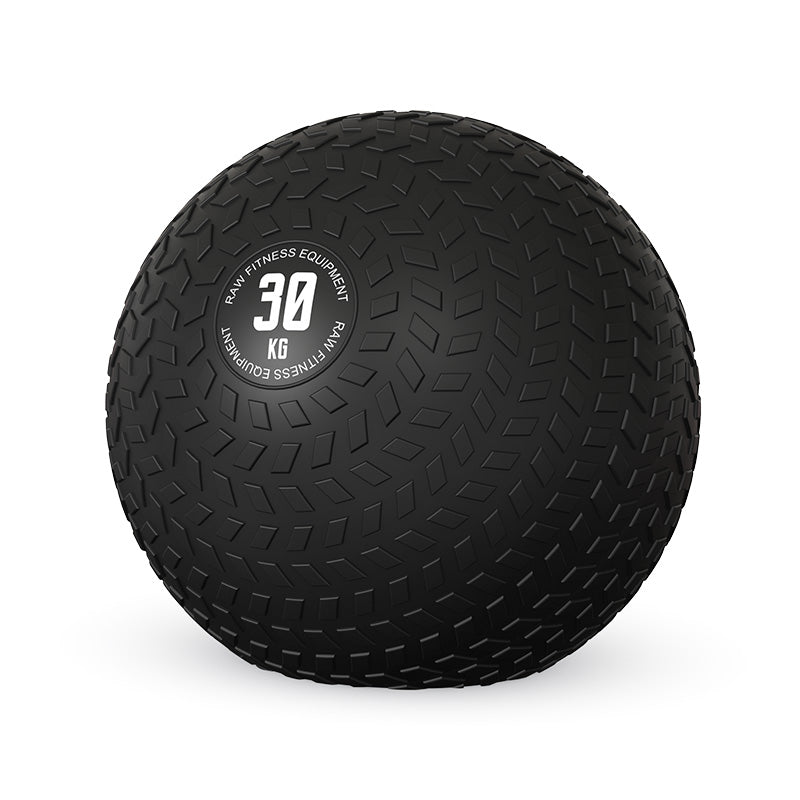 SLAM BALL BLACK 30KG - RAW Fitness Equipment