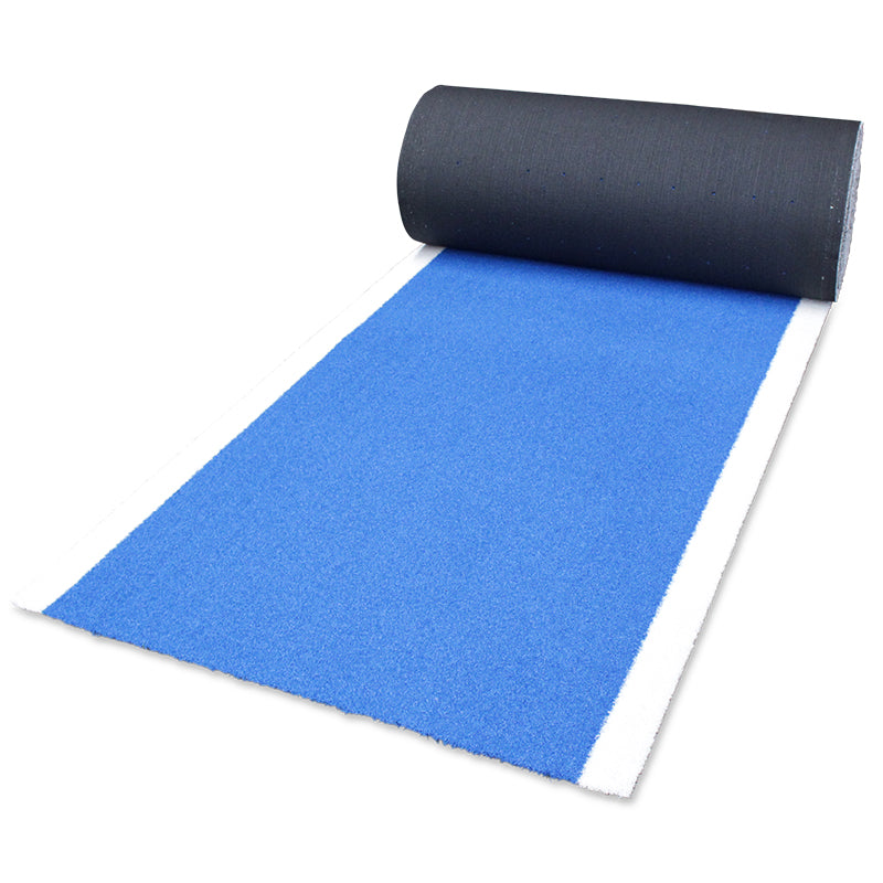SLED TURF TRACK - PITCH BLUE CURLY 20M