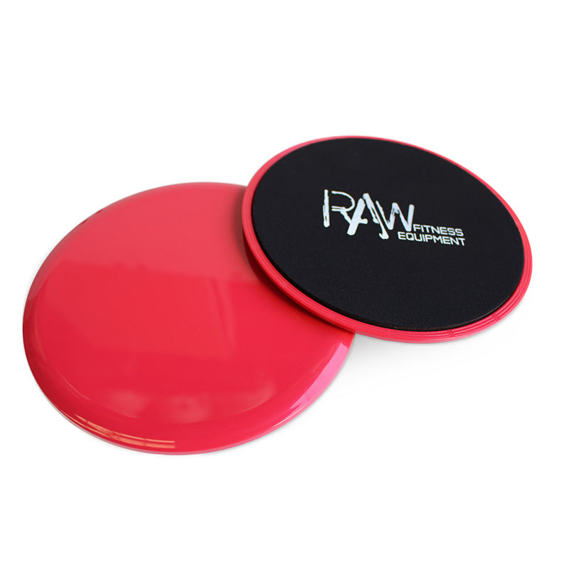 SLIDING GLIDING DISCS PAIR - RAW Fitness Equipment