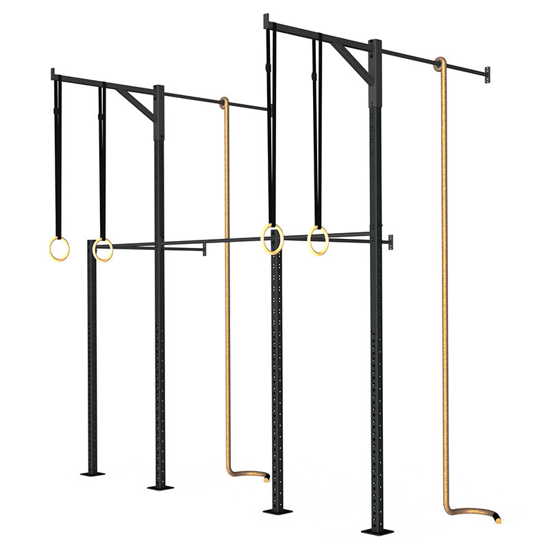 Wall-Mounted Rig - Concept 08 - RAW Fitness Equipment