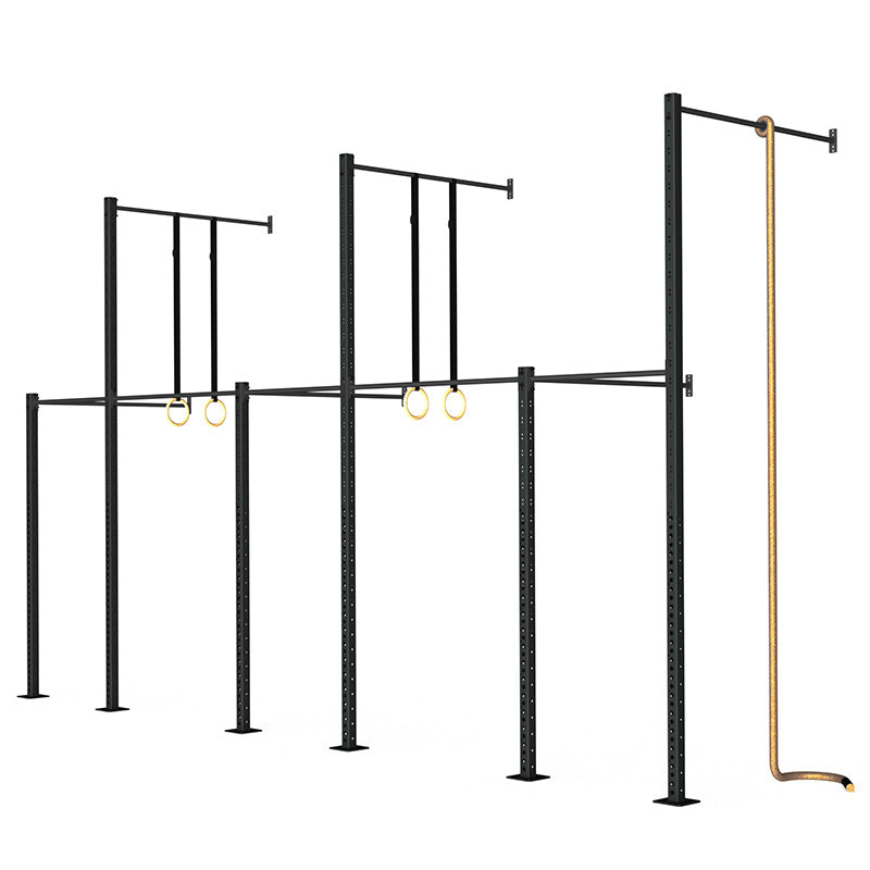 Wall-Mounted Rig - Concept 09 - RAW Fitness Equipment
