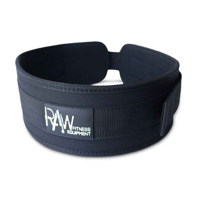 "WEIGHT BELT 4"" NYLON L - RAW Fitness Equipment"