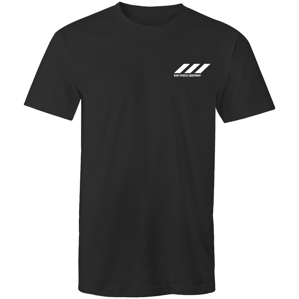 Stripe Logo Tee - More Colours - RAW Fitness Equipment