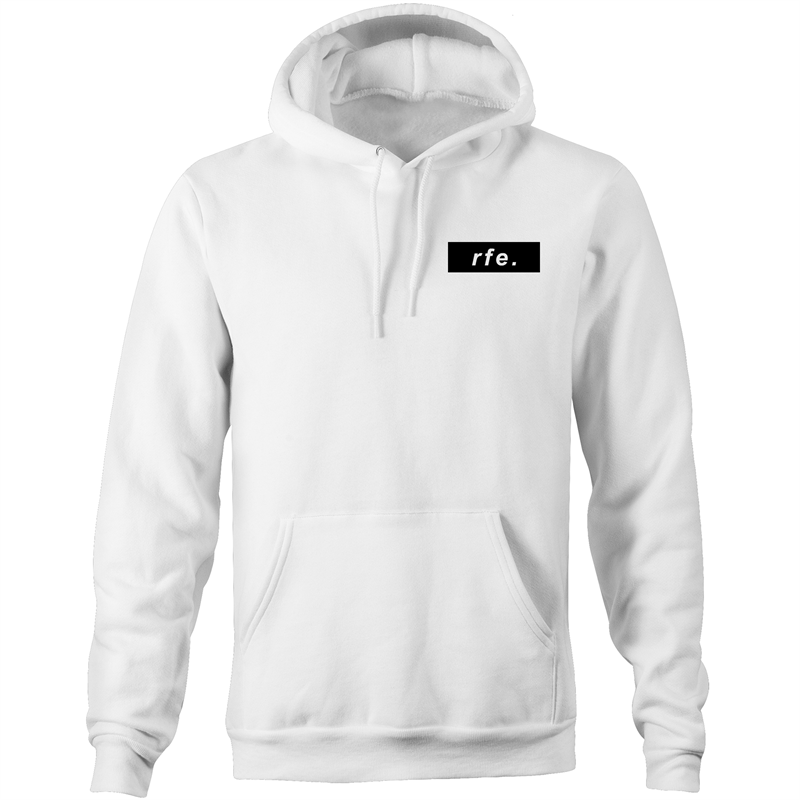 Black Box Logo Hoodie - More Colours - RAW Fitness Equipment