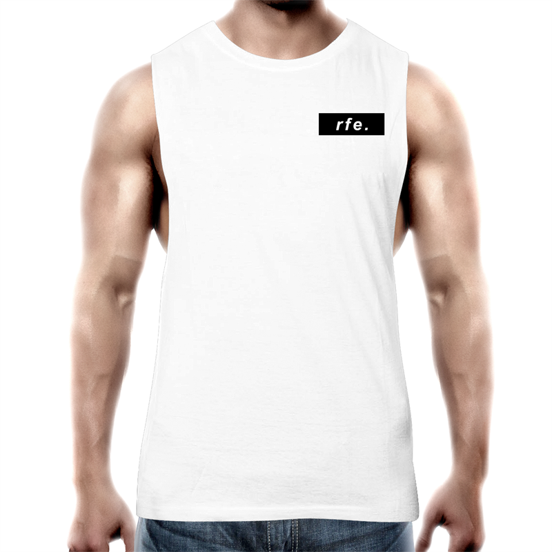 Black Box Logo Tank - RAW Fitness Equipment