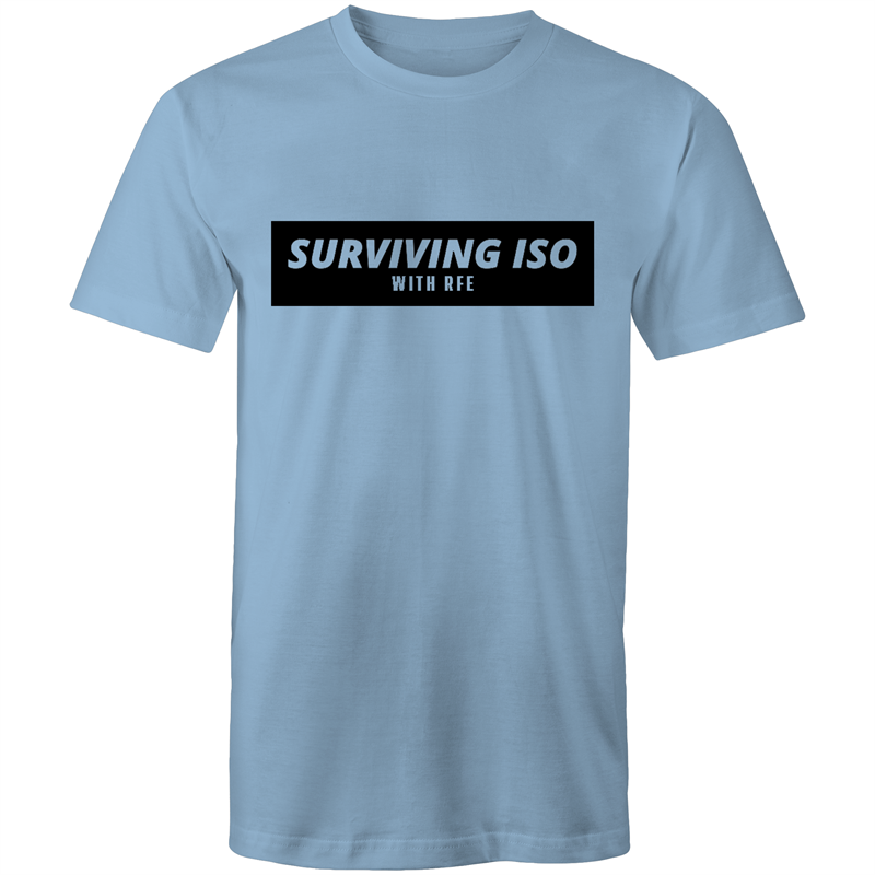 SURVIVING ISO TEE [MORE COLOURS] - RAW Fitness Equipment