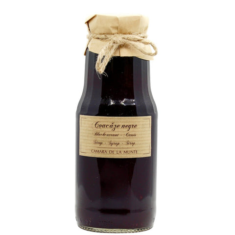 Blackcurrant syrup bottle 300ml - De Mana