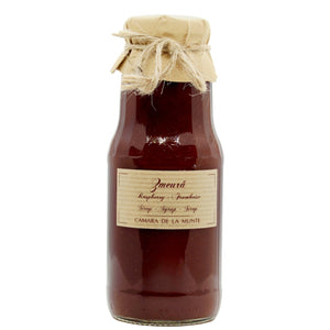 Wild raspberry syrup 300ml bottle - De Mana