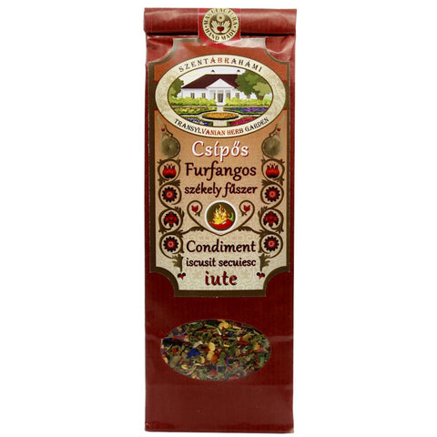 Transylvanian hot condiment spice mix 40g - De Mana