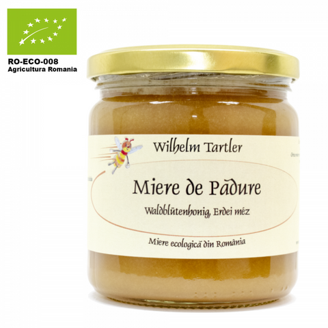 Organic, raw forest honey 250g/500g - De Mana