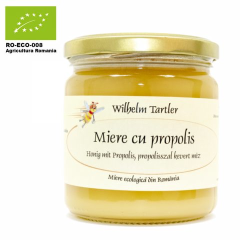 Organic, raw honey & propolis - De Mana