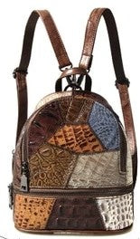 Vintage Bohemian Luxury Patchwork Backpack Ladies bag
