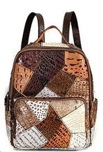 Load image into Gallery viewer, Vintage Bohemian Patchwork Luxury Backpack Ladies bag *Limited stock*